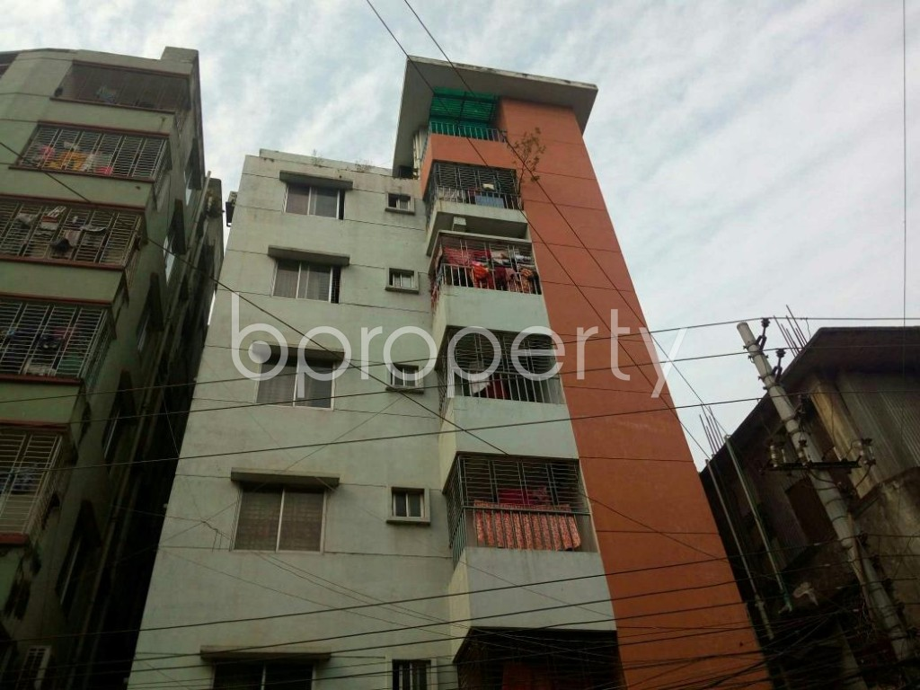 Front view - 3 Bed Apartment to Rent in Mirpur, Dhaka - 1839403