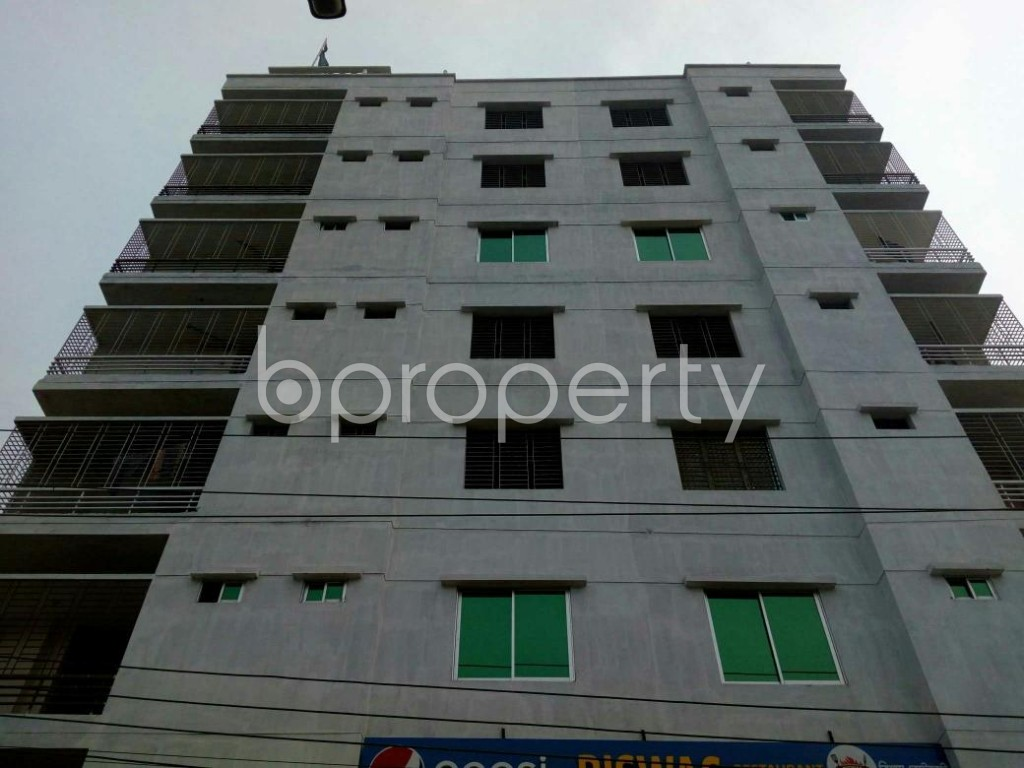 Front view - 2 Bed Apartment for Sale in Mirpur, Dhaka - 1839404