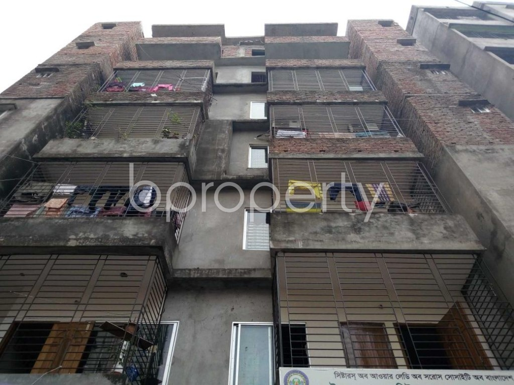 Front view - 3 Bed Apartment to Rent in Kalachandpur , Dhaka - 1839440