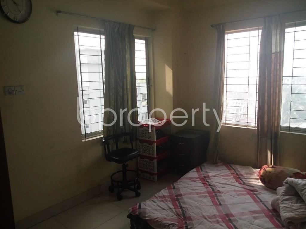 Bedroom - 3 Bed Apartment for Sale in Badda, Dhaka - 1839444