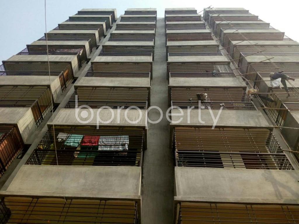 Front view - 3 Bed Apartment for Sale in Dakshin Khan, Dhaka - 1839478