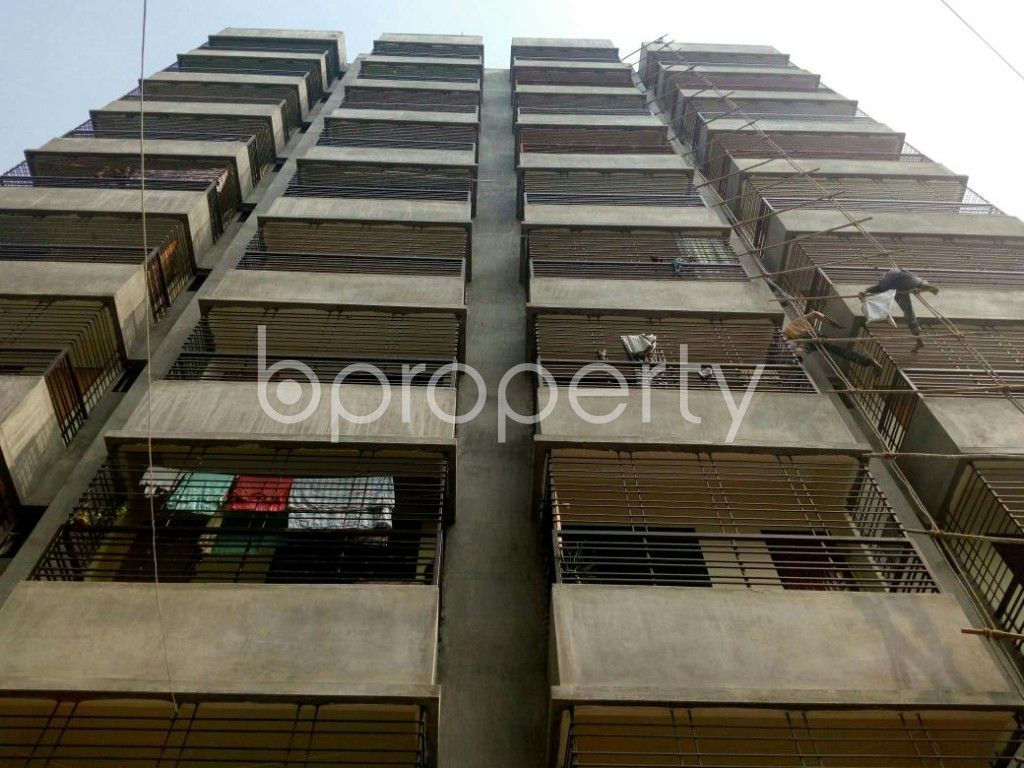 Front view - 3 Bed Apartment for Sale in Dakshin Khan, Dhaka - 1839479
