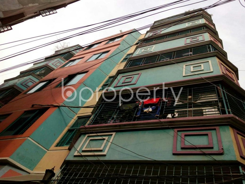 Outside view - 2 Bed Apartment to Rent in Dhanmondi, Dhaka - 1839521