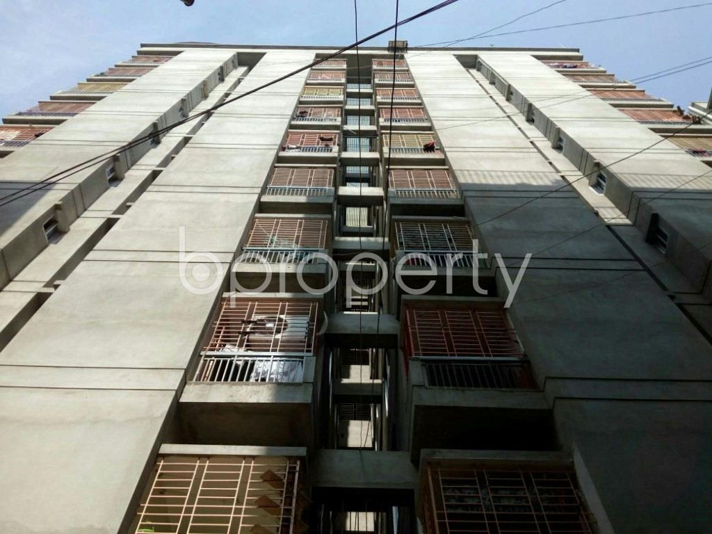 Front view - 3 Bed Apartment for Sale in Agargaon, Dhaka - 1839522