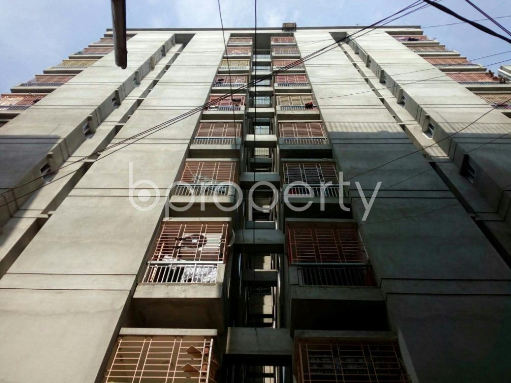 Front view - 3 Bed Apartment to Rent in Agargaon, Dhaka - 1839540