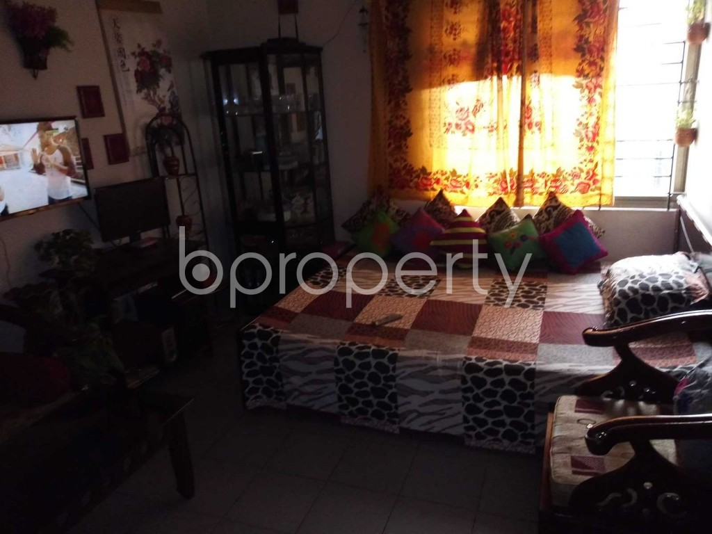 Bedroom - 2 Bed Apartment to Rent in Badda, Dhaka - 1839543