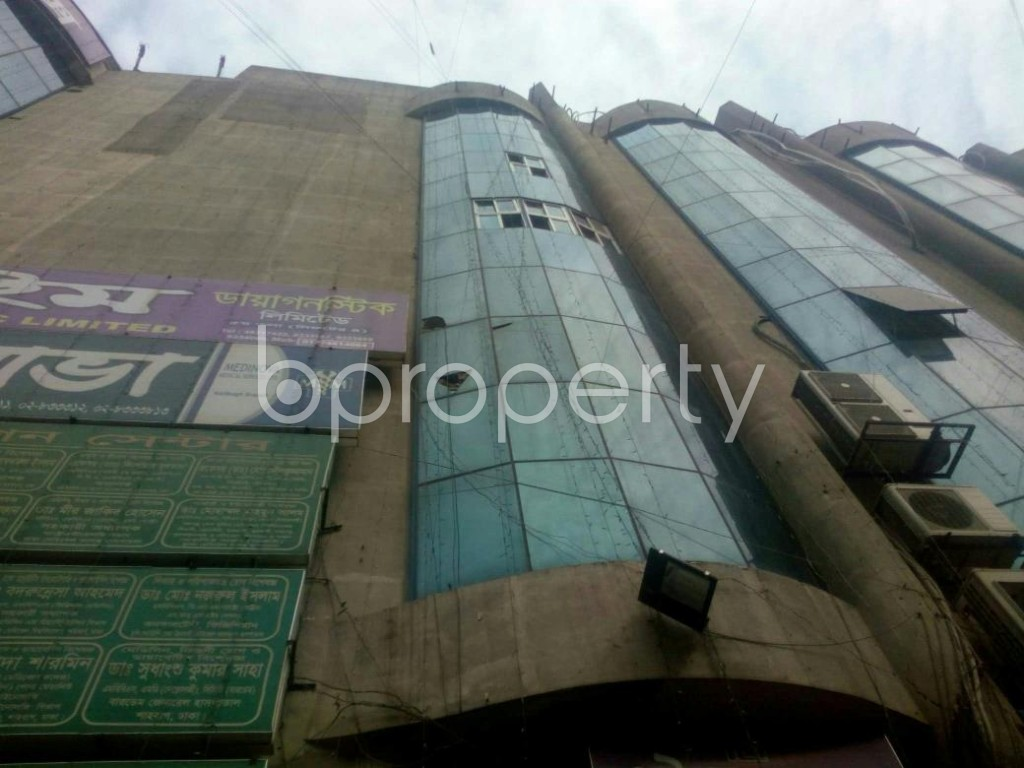 Front view - Shop to Rent in Malibagh, Dhaka - 1839552
