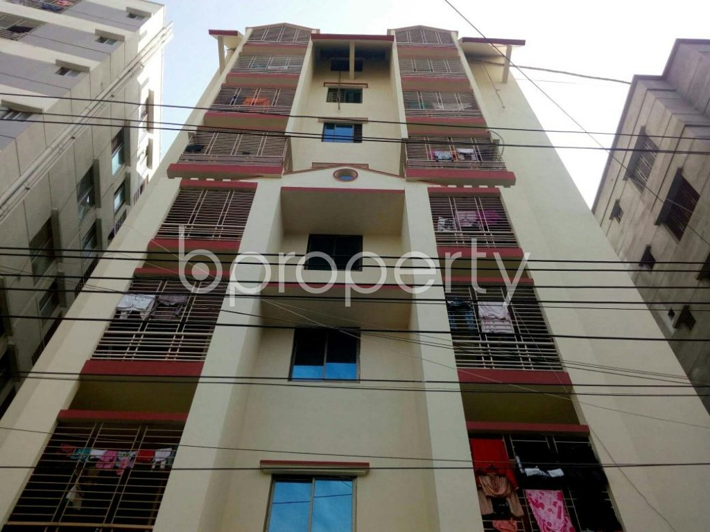 Front view - 3 Bed Apartment for Sale in Dakshin Khan, Dhaka - 1839568
