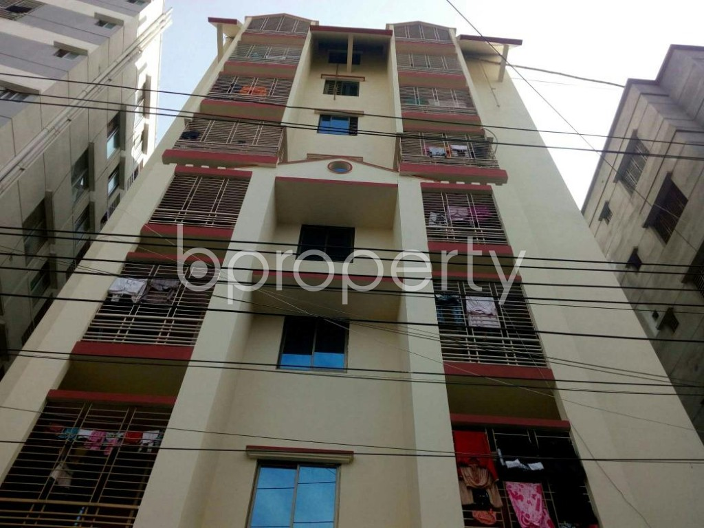 Front view - 3 Bed Apartment for Sale in Dakshin Khan, Dhaka - 1839570