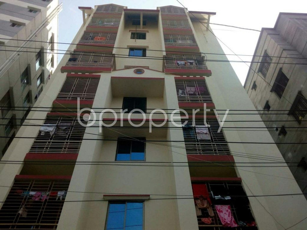 Front view - Apartment for Sale in Dakshin Khan, Dhaka - 1839571