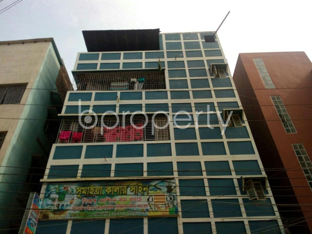 Front view - 3 Bed Apartment to Rent in Mirpur, Dhaka - 1839583