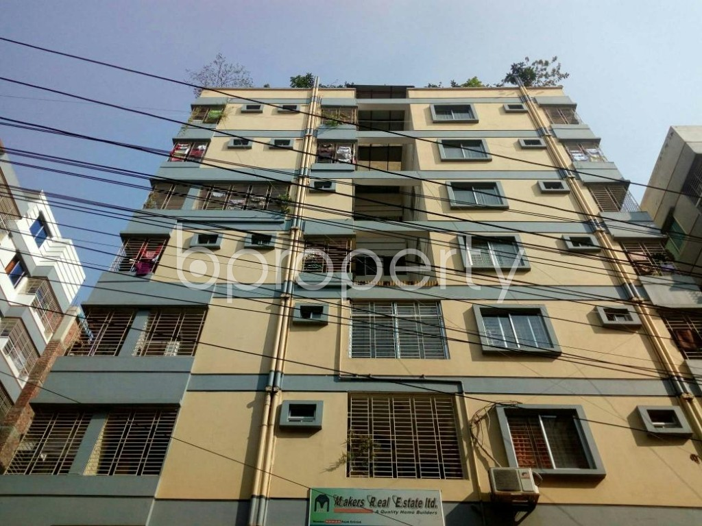 Front view - 3 Bed Apartment to Rent in Banasree, Dhaka - 1839595