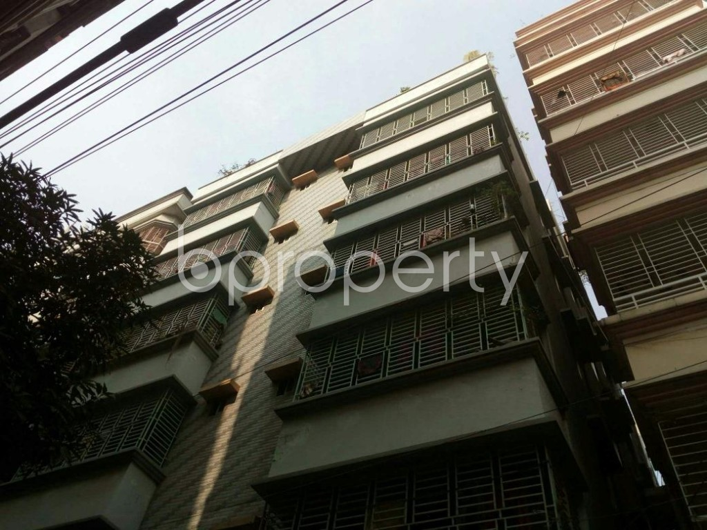 Outside view - 3 Bed Apartment to Rent in Banasree, Dhaka - 1839598