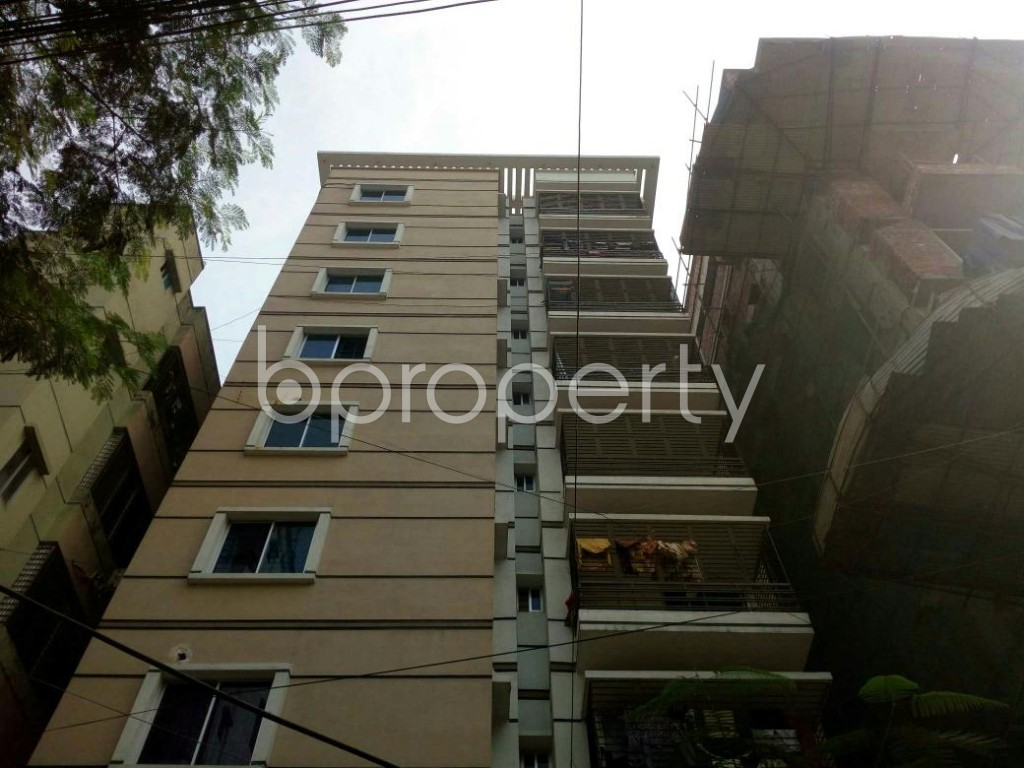 Front view - 3 Bed Apartment for Sale in Banasree, Dhaka - 1839604