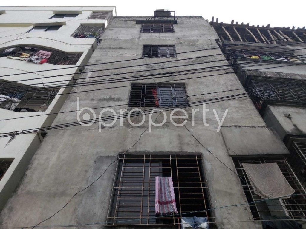 Front view - 1 Bed Apartment to Rent in Kalachandpur , Dhaka - 1839620