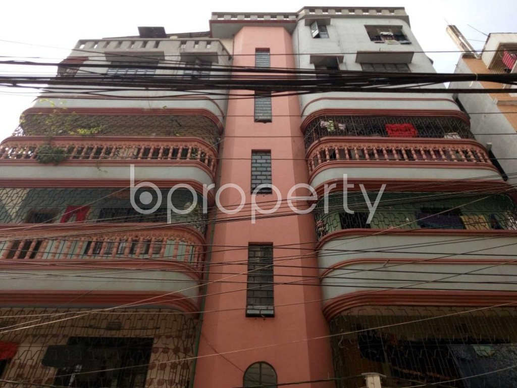 Front view - 2 Bed Apartment to Rent in Kalachandpur , Dhaka - 1839623