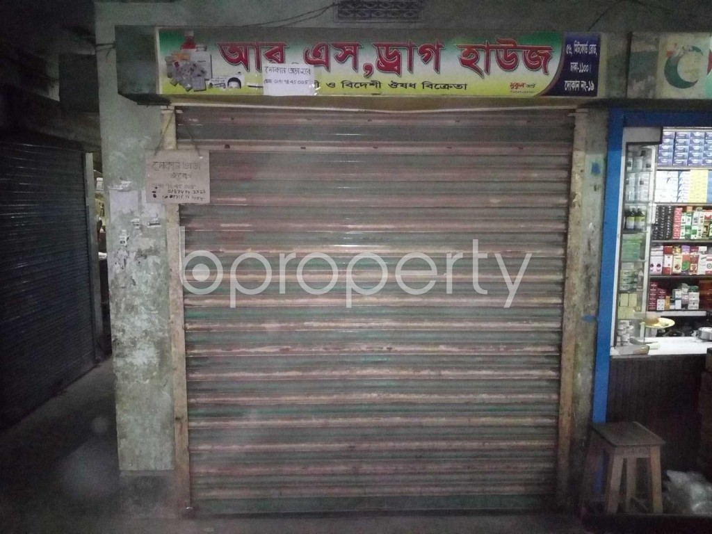 Front view - Shop to Rent in Bangshal, Dhaka - 1839644