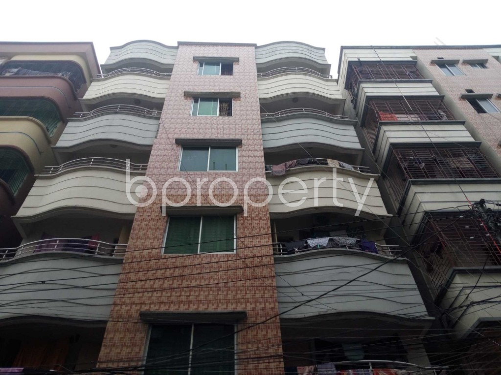 Outside view - 2 Bed Apartment to Rent in Nikunja, Dhaka - 1839662