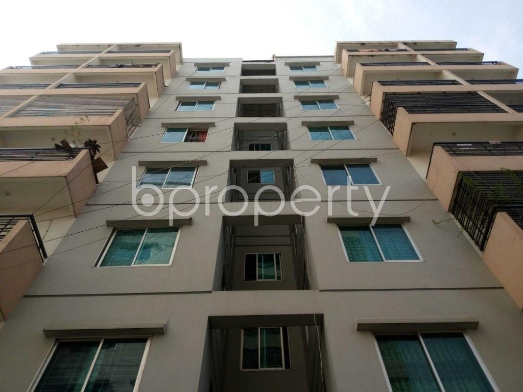 Front view - 3 Bed Apartment for Sale in Kafrul, Dhaka - 1839696
