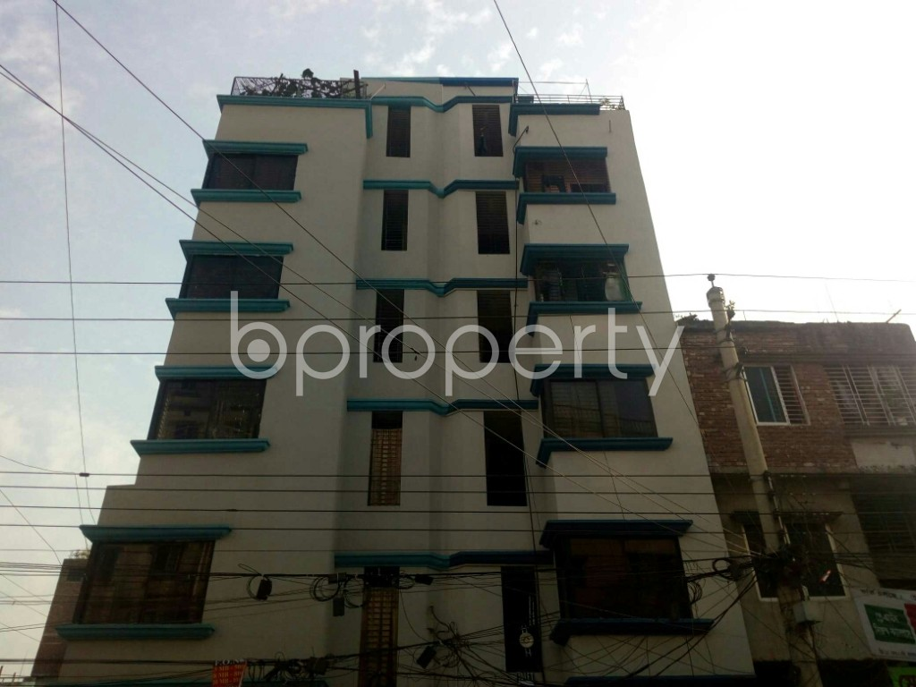 Front view - 1 Bed Apartment to Rent in Mirpur, Dhaka - 1839703