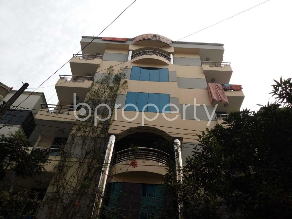Front view - 1 Bed Apartment to Rent in Uttara, Dhaka - 1839717