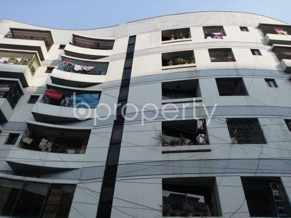 Front view - 3 Bed Apartment for Sale in Banani, Dhaka - 1840079