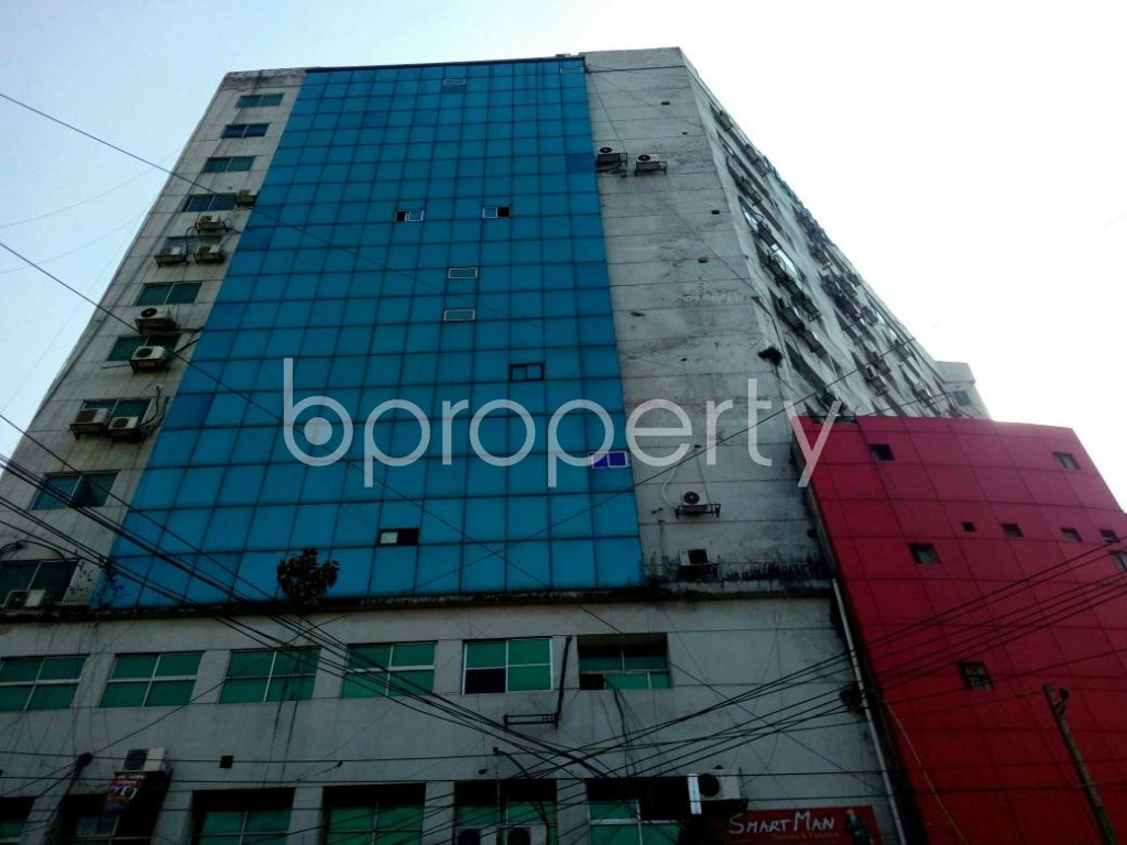 Front view - Office for Sale in Hatirpool, Dhaka - 1840406