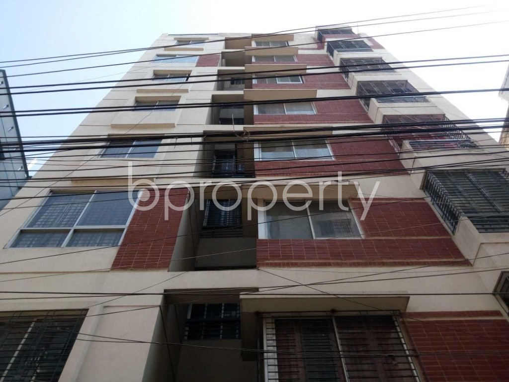 Front view - 3 Bed Apartment for Sale in Ibrahimpur, Dhaka - 1841706