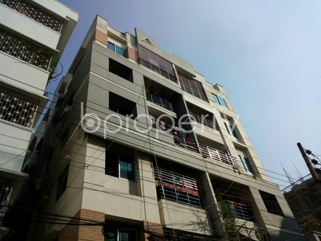 Outside view - 3 Bed Apartment to Rent in Lalmatia, Dhaka - 1841834