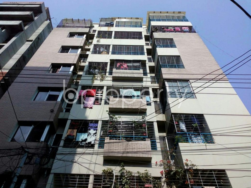 Front view - 3 Bed Apartment to Rent in Lalmatia, Dhaka - 1841848
