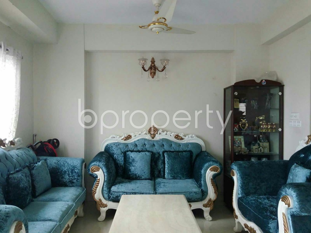 Empty Room - 4 Bed Apartment for Sale in Dhanmondi, Dhaka - 1842003