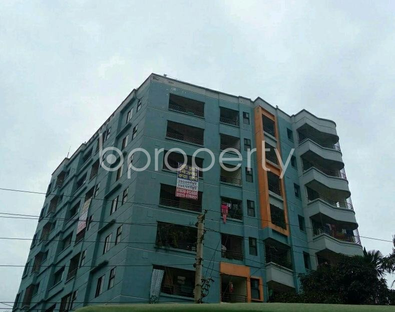 Front view - 3 Bed Apartment for Sale in Halishahar, Chattogram - 1842140