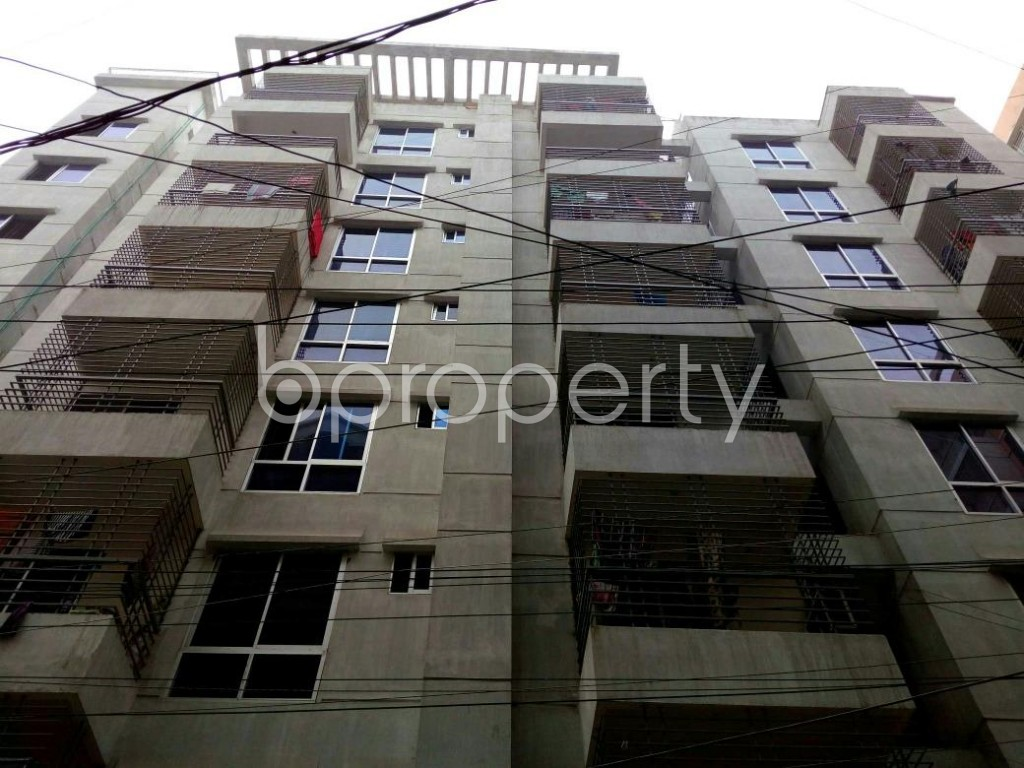 Front view - 3 Bed Apartment for Sale in Mohammadpur, Dhaka - 1843123