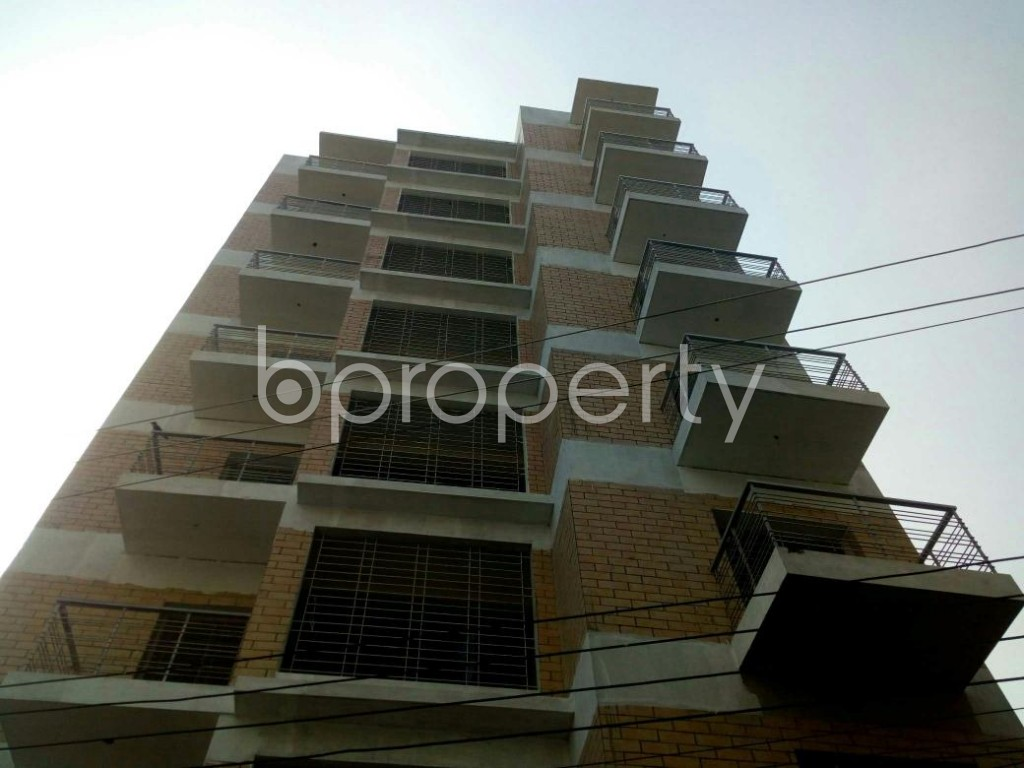 Front view - 3 Bed Apartment for Sale in Badda, Dhaka - 1843149