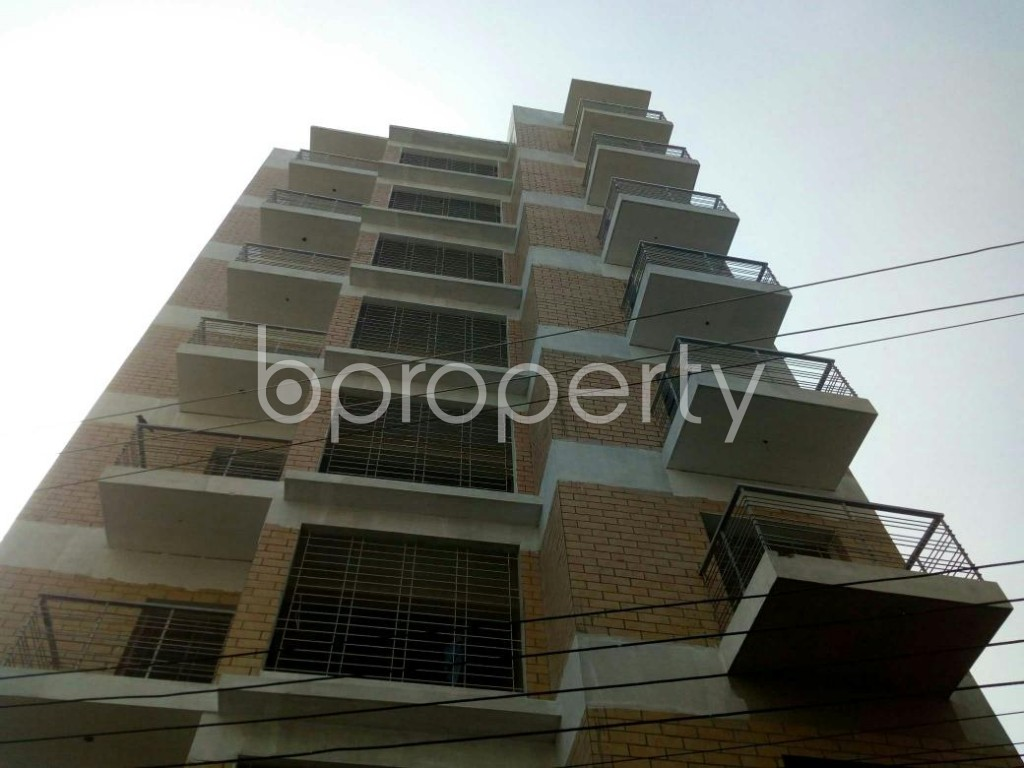 Front view - 3 Bed Apartment for Sale in Badda, Dhaka - 1843151