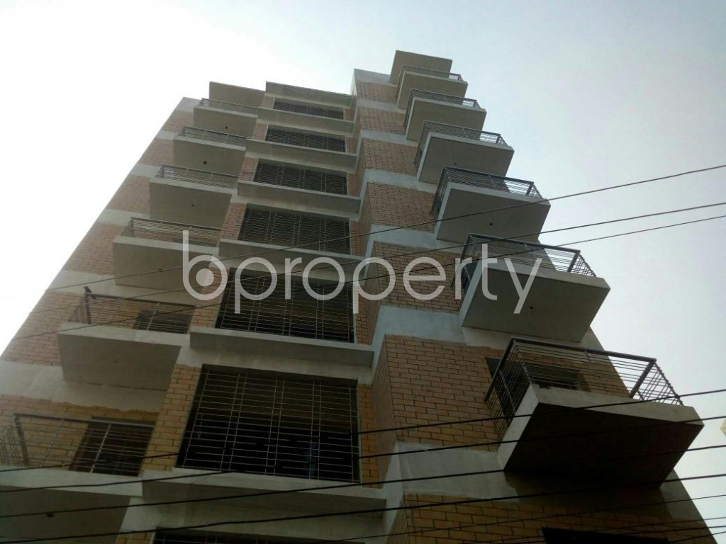 Front view - 3 Bed Apartment for Sale in Badda, Dhaka - 1843153