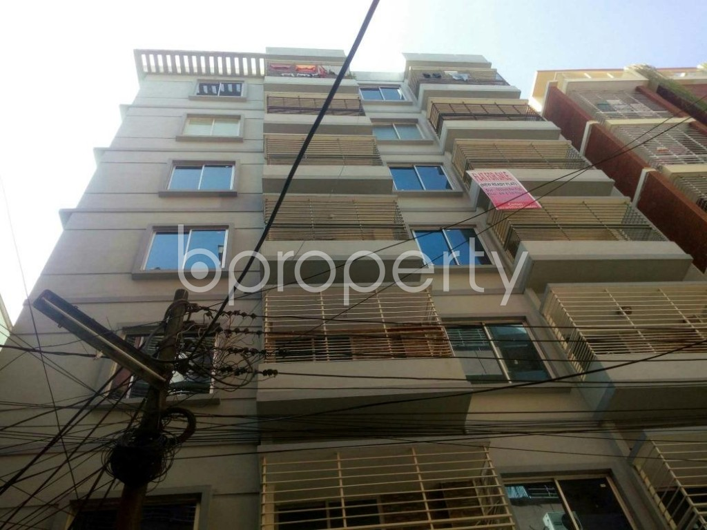 Front view - 3 Bed Apartment for Sale in Lal Khan Bazaar, Chattogram - 1843560