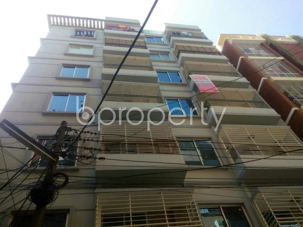Front view - 3 Bed Apartment for Sale in Lal Khan Bazaar, Chattogram - 1843561