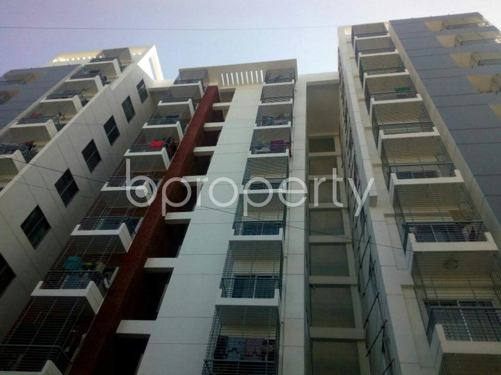 Front view - 3 Bed Apartment for Sale in 7 No. West Sholoshohor Ward, Chattogram - 1843577