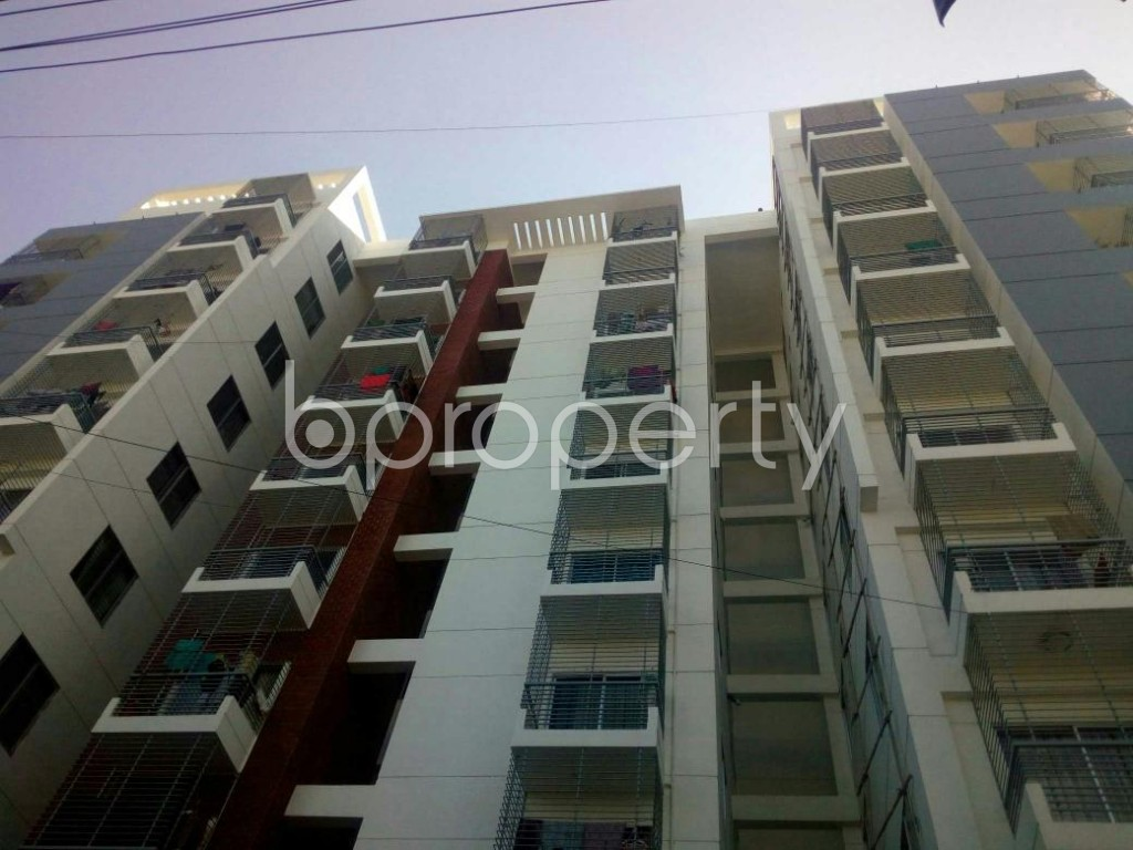 Front view - 3 Bed Apartment for Sale in 7 No. West Sholoshohor Ward, Chattogram - 1843589