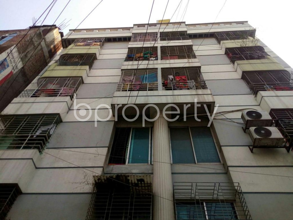 Front view - 4 Bed Apartment for Sale in Badda, Dhaka - 1843973