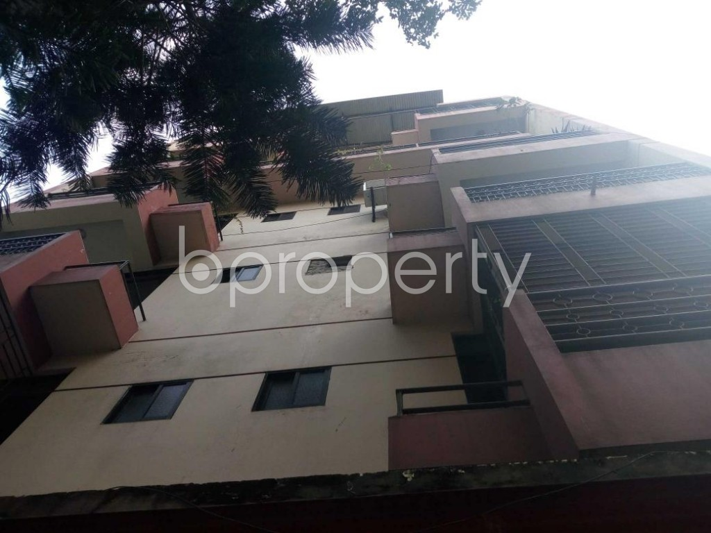Front view - 3 Bed Apartment for Sale in Uttara, Dhaka - 1843979