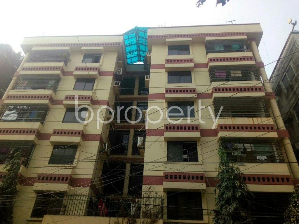 Front view - 3 Bed Apartment for Sale in Dhanmondi, Dhaka - 1844229