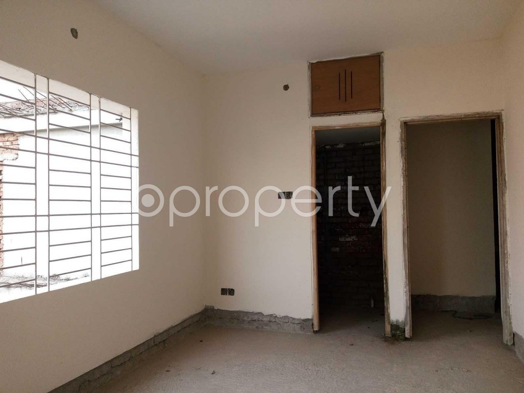 Bedroom - 3 Bed Apartment for Sale in Ibrahimpur, Dhaka - 1844735