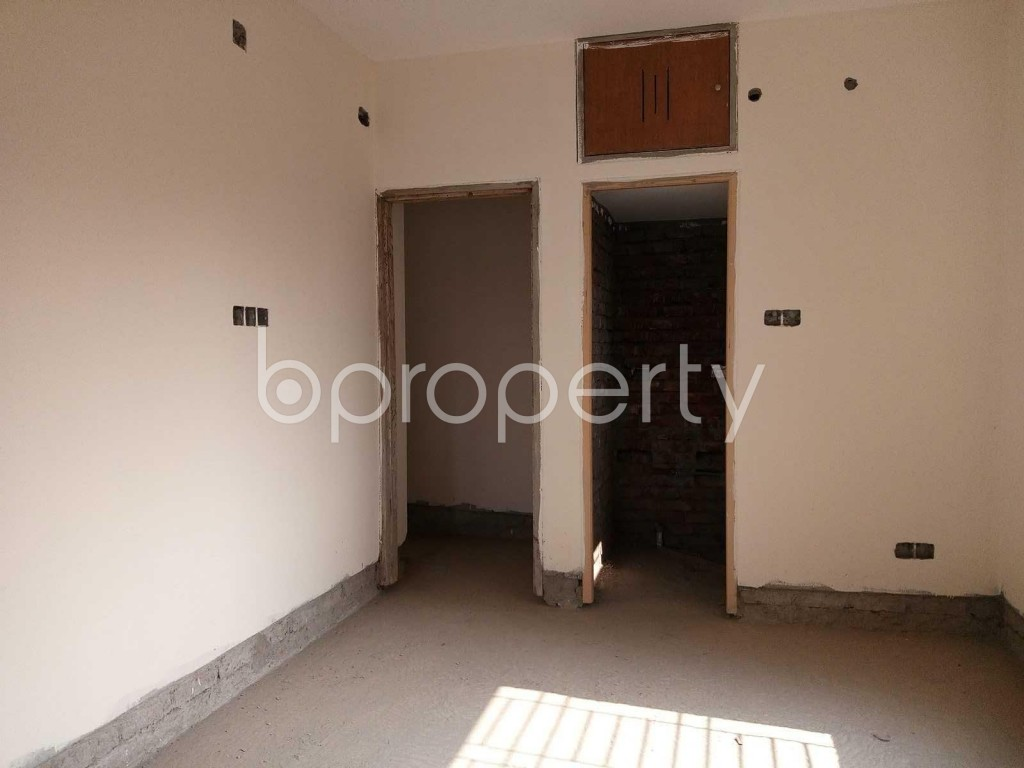 Bedroom - 3 Bed Apartment for Sale in Ibrahimpur, Dhaka - 1844738