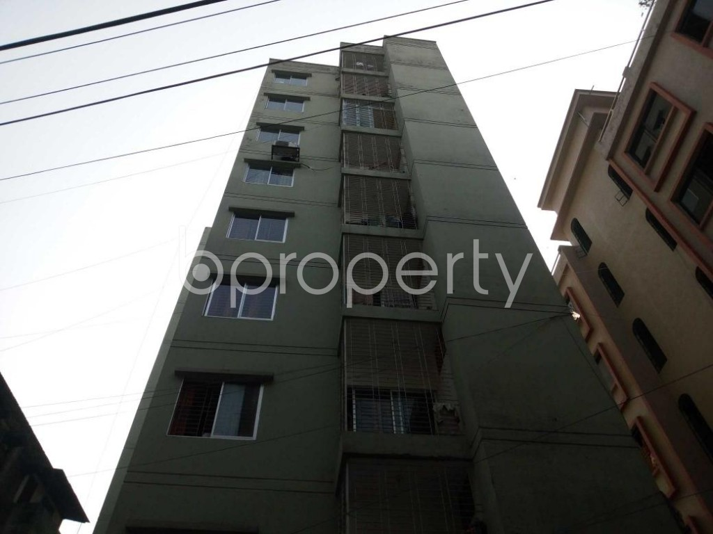 Front view - 3 Bed Apartment for Sale in Ibrahimpur, Dhaka - 1844743