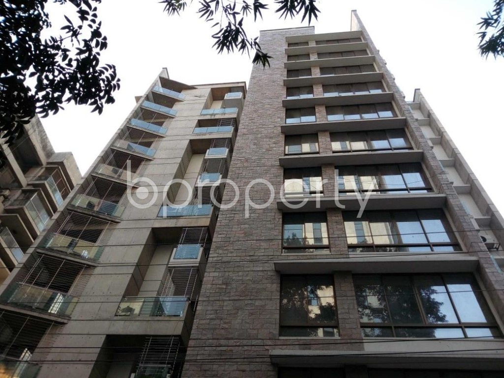 Front view - 4 Bed Apartment to Rent in Gulshan, Dhaka - 1845067