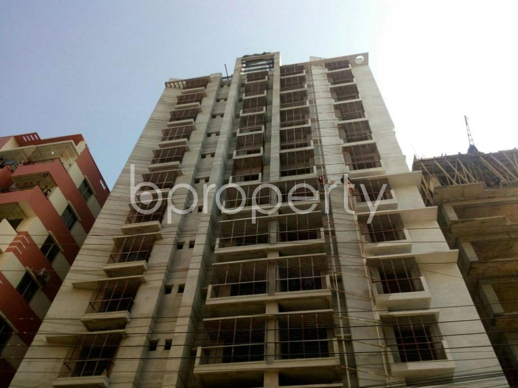 Front view - 3 Bed Apartment for Sale in Jhautola, Cumilla - 1845130