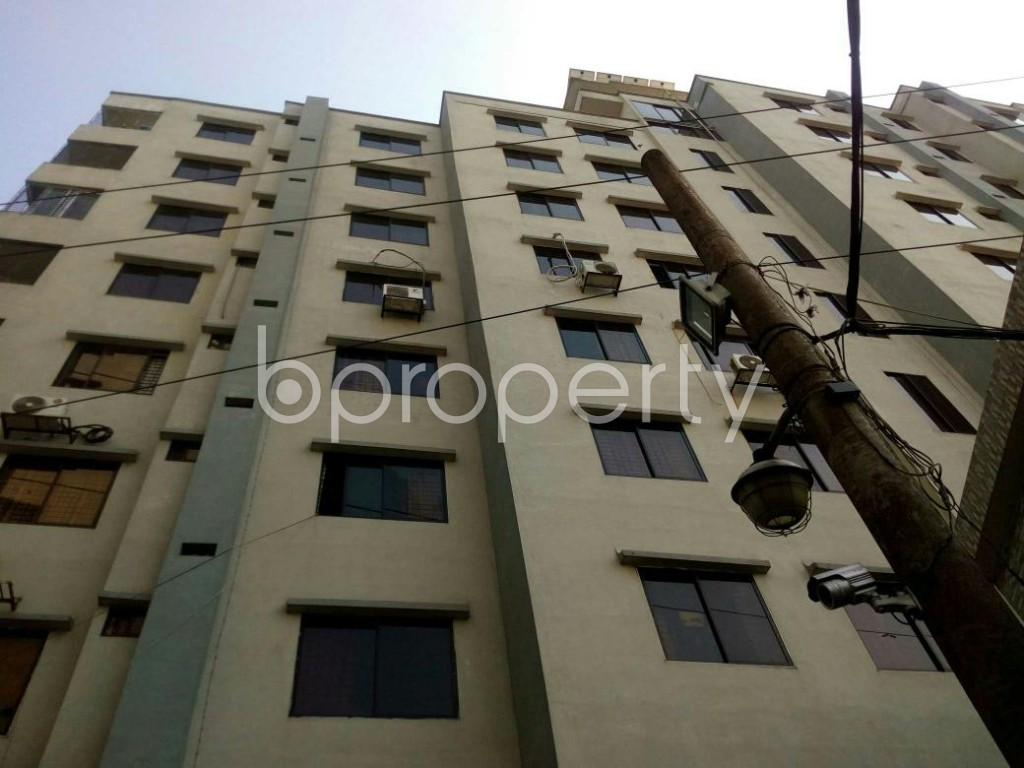 Front view - 3 Bed Apartment for Sale in Badda, Dhaka - 1845347