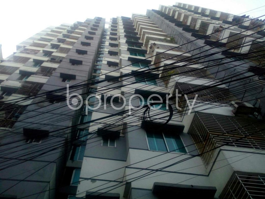 Front view - 2 Bed Apartment for Sale in Badda, Dhaka - 1845484